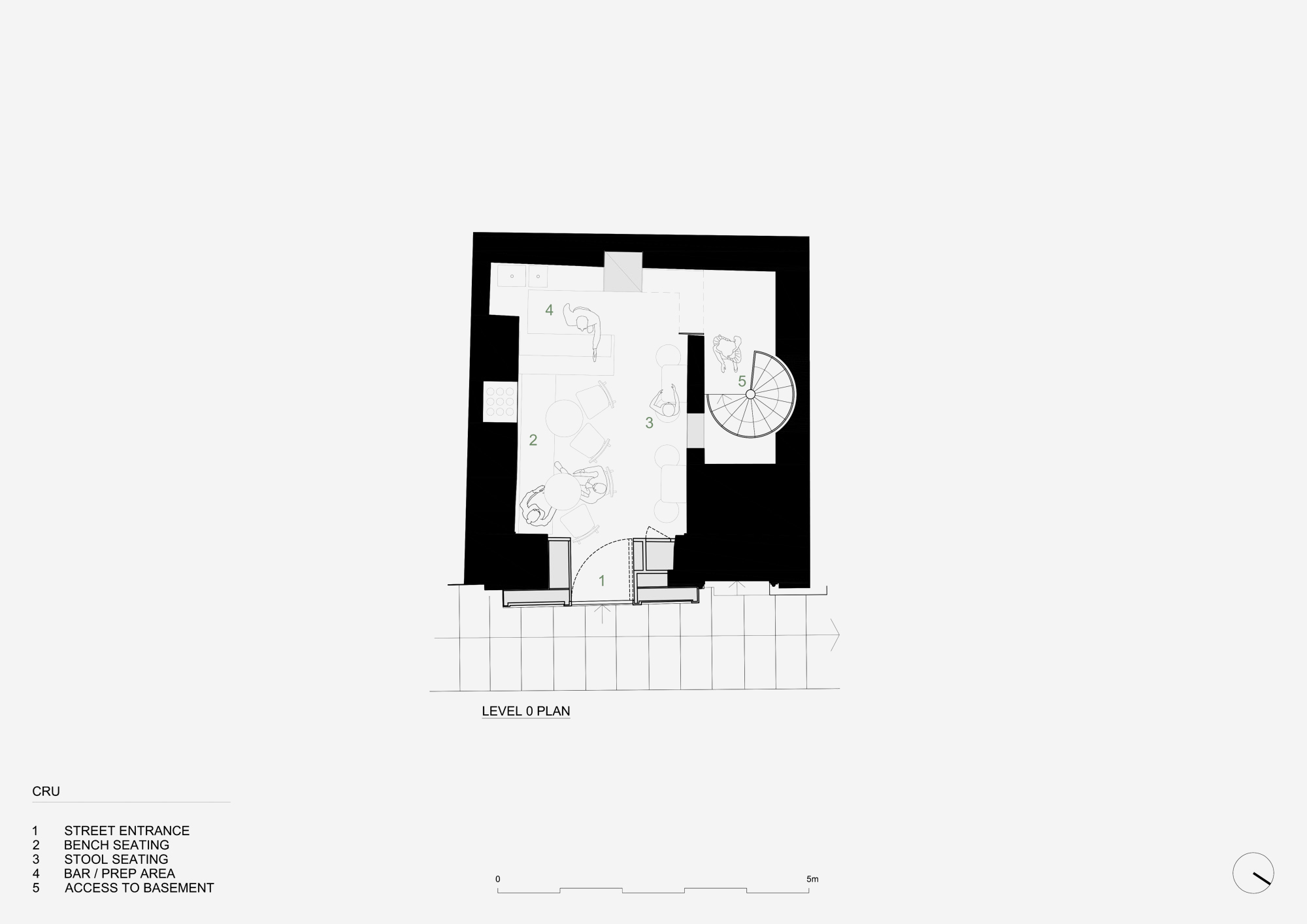 Valentino Architects - Malta - Cru Wine Bar